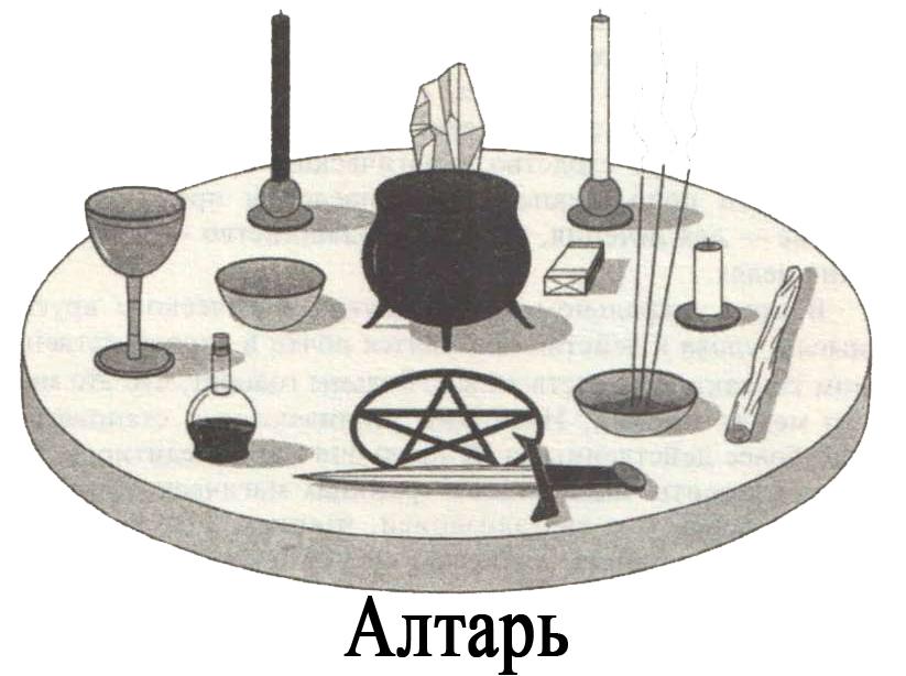 """Мастер-класс """"Ритуальная магия.Идеальные формы-символы  для управления магической энергией"""".Занятие №4. - Страница 2 Altar"""